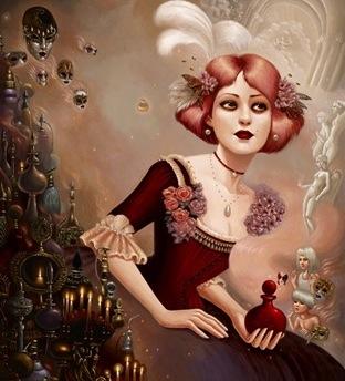Eue de Parfum: profumi dipinti