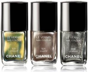 Smalti Chanel collezione Illusion D'Ombres