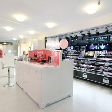 Inaugurazione boutiques Benefit e Make Up For Ever nello store Sephora di Milano.