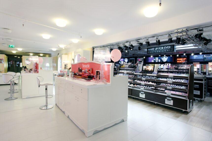 Inaugurazione boutiques Benefit e Make Up For Ever nello store Sephora di Milano.