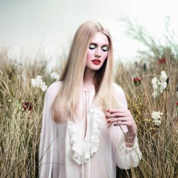 """Givenchy """"Instant Bucolique""""  Collezione Primavera – Estate 2012."""