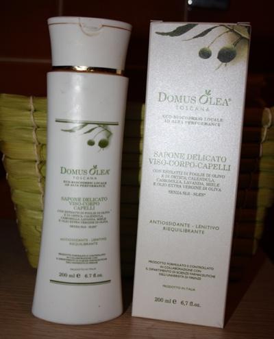 Domus Olea Toscana: sapone antiossidante viso-corpo-capelli