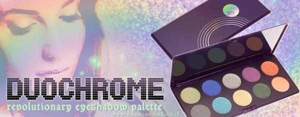 Nuova palette Duochrome di Neve Cosmetics.