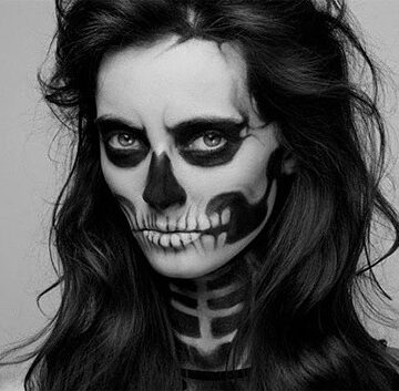 "Halloween ""Skeleton Makeup"""